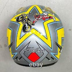 Vintage 2000 Shoei VFX-R Travis Pastrana Replica Motocross Helmet Small