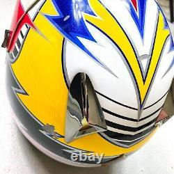 Vintage 2003 Fox Racing Ricky Carmichael Replica Pilot Motocross Helmet Small
