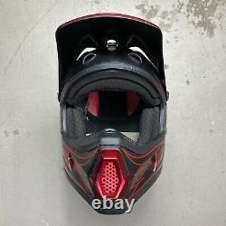Vintage 2004 Fox Racing Pilot Carey Hart Motocross Helmet Small axo thor fmx
