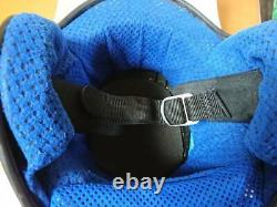 Vintage 80's SHOEI VJ-1 Open-Face Motocross Helmet Size M Interior repaired