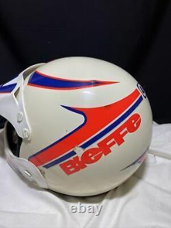 Vintage 90's Bieffe Full Face Motocross Dirt Bike Helmet Size Medium Motocross