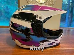 Vintage AGV RX Motocross Helmet 1993
