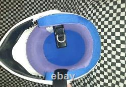 Vintage AGV blitz motocross Racing helmet vgc bell Simpson arai shoei