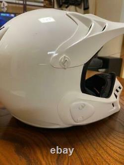 Vintage Arai Motocross Helmet MX-III Size M White Used