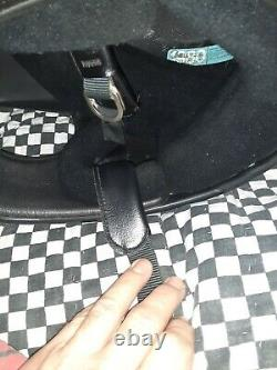 Vintage BELL MOTO 3 MOTO CROSS HELMET 7 1/2 VGC WITH VISOR snell 75