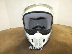 Vintage BELL MOTO 4 ANSWER W TROY LEE GRAPHICS MOTOCROSS HELMET SIZE 7-1/2 AHRMA