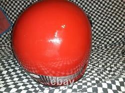 Vintage BELL MOTO 4 MOTO CROSS HELMET 7 1/2 VGC aria shoei Buco red / black