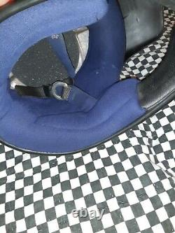 Vintage BELL MOTO 4 MOTO CROSS HELMET 7 1/4 VGC WITH VISOR Simpson, aria, shoei