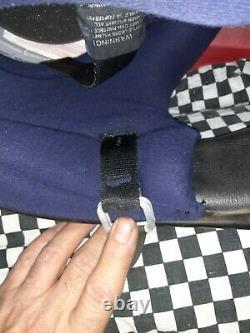 Vintage BELL MOTO 4 MOTO CROSS HELMET 7 3/8 VGC WITH VISOR