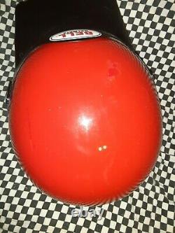 Vintage BELL MOTO 4 MOTO CROSS Racing HELMET 7 1/2 VGC