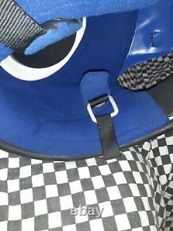 Vintage BELL MOTO 4 MOTO X HELMET large nos WITH VISOR