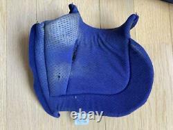 Vintage BELL MOTO-5 Motocross Helmet Blue/ White Size L 61cm 7 5/8 Used