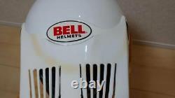 Vintage BELL MOTO-5 Rick Johnson Model Size 7 80s RJ Motocross