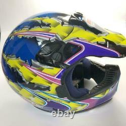 Vintage BELL MOTO 6 Motocross Helmet Mike LaRoccos replica 1996 Size XL