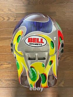 Vintage BELL MOTO6 Jeremy McGrath Replica SHOWTIME3 Motocross Helmet Size 7 1/2