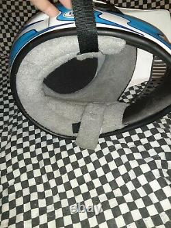 Vintage BELL answer /Oneal MOTO 4 MOTO CROSS HELMET 7 3/8 VGC aria shoei Buco
