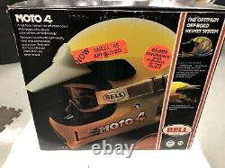 Vintage Bell Moto 4 motocross helmet