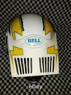 Vintage Bell Moto 5 pro Helmet arai Motocross snell85 vgc 7 1/2 Simpson shoei