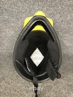 Vintage Bell Motto 2 II Yellow WithFlames Motocross MX Motorcycle Helmet Sz S