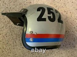 Vintage Bell Super Magnum Motocross Motorcycle Racing Helmet 7 3/4 Snell 1970