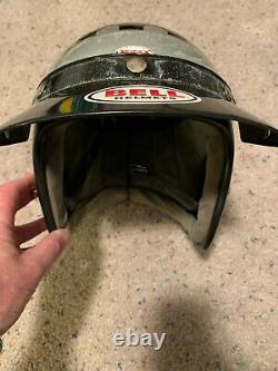 Vintage Bell Super Magnum Motocross Motorcycle Racing Helmet 7 3/8 Snell 1970