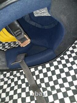 Vintage Fulmer FX motocross atv helmet emigo visor Large vgc. Bell, aria, shoei