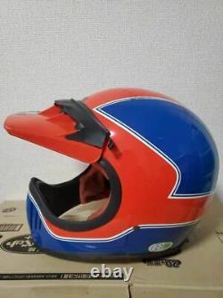 Vintage HONDA Motocross Helmet Production of SHOEI Ventilation System Size L
