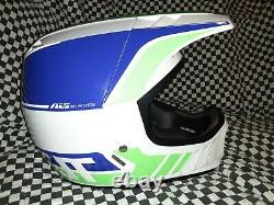 Vintage JT ALS 2 motocross Racing helmet vgc Oakley Goggles bell Simpson arai