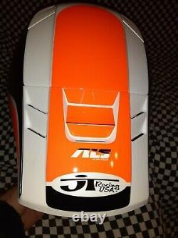 Vintage JT ALS 2 motocross Racing helmet vgc Oakley Goggles bell Simpson ktm