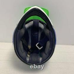 Vintage JT RACING USA Motocross Helmet ALS-2 No Visor Size M 57cm Rare