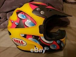 Vintage Jeremy McGrath Bell Motocross Helmet Moto-6. Brand new