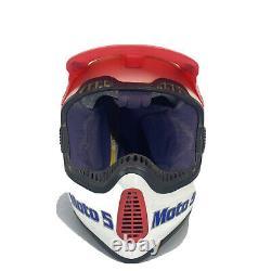 Vintage MOTO 5 TROY LEE AERO 2 MOTO CROSS HELMET 7 1/8 WITH VISOR 57