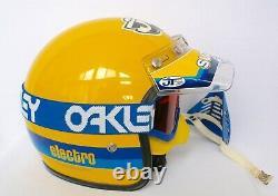 Vintage Motocross Fox Electro Helmet Supercross Dirtbike MX Suzuki Dg Fmf Jt Fmf