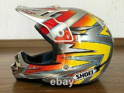 Vintage Motocross SHOEI Helmet VFX-R PASTRANA2 Size M Travis Pastrana Replica