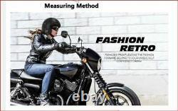 Vintage Motorcycle Helmet Open Face For Harley Motorbike Scooter Biker Motocross