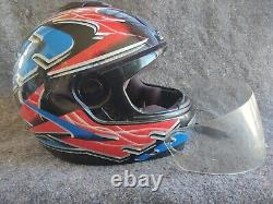 Vintage NOLAN N60 full face Pro street race motocross enduro motorcycle HELMET L