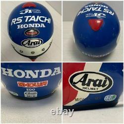 Vintage Originator Arai MX-I Motocross Full-Face Helmet Tricolor Size M Used