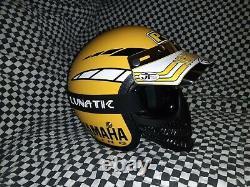 Vintage RG-9 Yamaha Helmet factory effect USA 85 bell Simpson jt oneal large