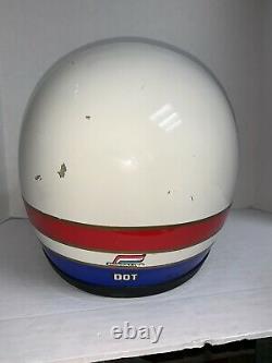 Vintage Rare Honda Hondaline Pro Motocross BMX ATC Helmet SIZE XL 7 5/8 -7 3/4