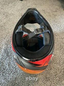 Vintage Rare Shoei VFX-R Travis Pastrana Replica Motocross Helmet Nitro Circus