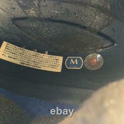 Vintage SHOEI Motocross Full-Face Helmet VX-TROYLEE Blue/Yellow Size M Used