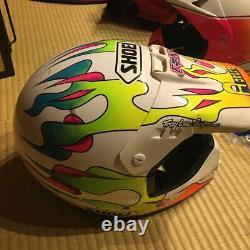 Vintage SHOEI Motocross Helmet Size M Used