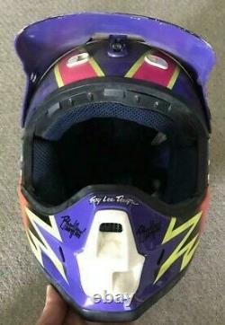 Vintage SHOEI Motocross Helmet VF-X DEMON BRADSHAW Replica Size S Used