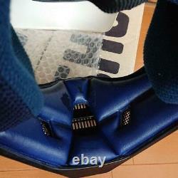 Vintage SHOEI Motocross Helmet VF-X Troy Visor White Size M Used 80s 90s