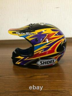 Vintage SHOEI Motocross Helmet VF-X2 DEMON BRADSHAW Replica Size M Used