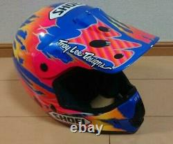 Vintage SHOEI Motocross Helmet VF-XTROYMAX Size M Used