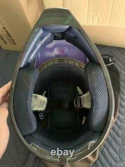 Vintage SHOEI VF-X DAMON BRADSHAW Motocross Helmet Size L Troy Lee DesignsUSED