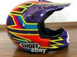 Vintage SHOEI VF-X Motocross Helmet Damon Bradshaw Replica Size M NM