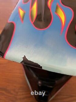 Vintage SHOEI VF-X TROYLEE Motocross Helmet Size M Troy Lee Designs Black