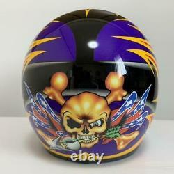Vintage SHOEI VF-X2 DAMON BRADSHAW Motocross Helmet Size S Troy Lee Designs